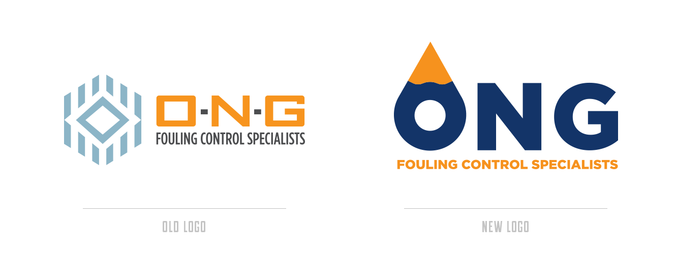 Logo Refresh - ONG Fouling Control Specialists - Baseline Creative, Inc.