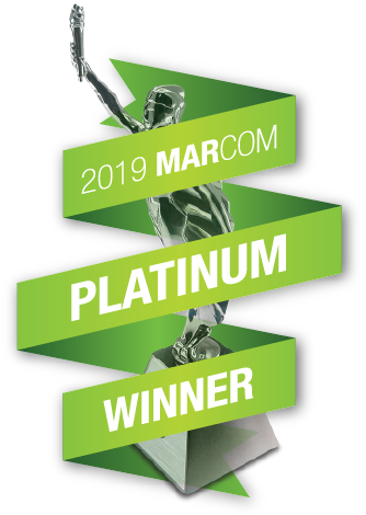 MarComm Platinum Award Winner logo