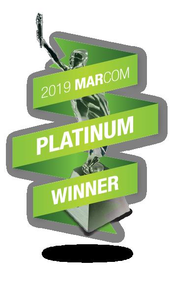 Baseline Creative Platinum MarCom Award